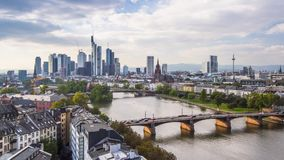 Frankfurt, Niemcy pejzaż miejski zbiory
