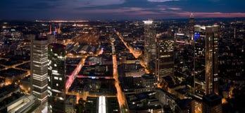 Frankfurt at Night Stock Images