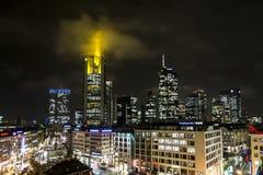 Frankfurt at Night Stock Photos