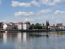 Frankfurt-Oderblick-4 Imágenes de archivo libres de regalías