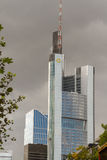 Frankfurt office buildings - Commerzbank Tower Royalty Free Stock Photography