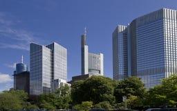 Frankfurt Office Buildings, Germany Stock Images