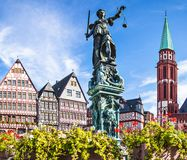 Frankfurt Old City Royalty Free Stock Photography