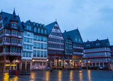 Frankfurt Old City. Romer Square royalty free stock photography