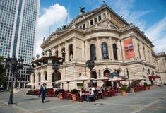 Frankfurt old  opera house, Germany Stock Photos