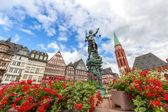 Frankfurt old town Royalty Free Stock Images