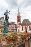 Frankfurt old town Stock Image