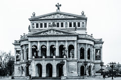 Frankfurt opera Zdjęcie Stock