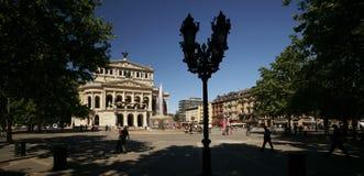 frankfurt opera domowa stara Zdjęcie Royalty Free