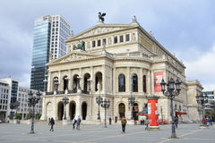 Frankfurt Opera House Royalty Free Stock Image