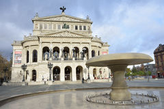 Frankfurt Opera House Royalty Free Stock Photography