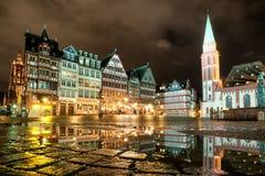 Frankfurt på strömförsörjningen, Tyskland Royaltyfria Bilder