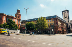 Frankfurt Paulskirche Stock Photo