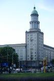 Frankfurt port royaltyfri bild