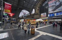 Frankfurt Railway Station, Germany Stock Image