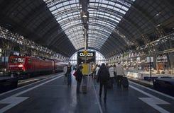 Frankfurt Railway Station, Germany Royalty Free Stock Photo