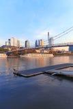 Frankfurt Riverside Royalty Free Stock Image