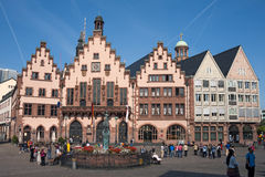 Frankfurt Roemer Stock Photography