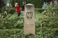 Frankfurt Rose Garden Stockfotos