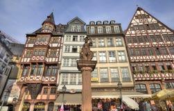 Frankfurt rynek Zdjęcie Royalty Free