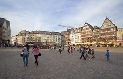 Frankfurt rynek Obraz Royalty Free