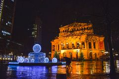 Frankfurt`s Opera stock photography