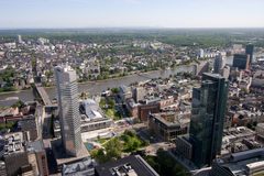 Frankfurt and Sachsenhausen Stock Images