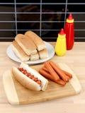 Frankfurt Sausages Royalty Free Stock Photo