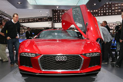 FRANKFURT - SEPT 10: Audi nanuk quattro concept shown at the 65t Stock Photography