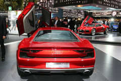 FRANKFURT - SEPT 10: Audi nanuk quattro concept shown at the 65t Stock Images