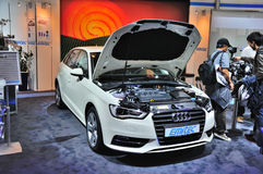 FRANKFURT - SEPT 14: Audi A3 presented as world premiere at the Stock Image
