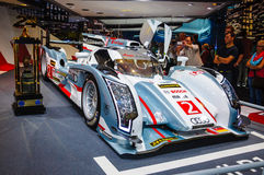 FRANKFURT - SEPT 21: Audi R18 e-tron quattro 01 presented as wor Stock Images