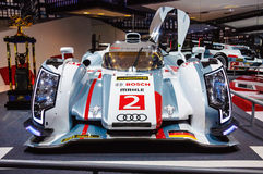 FRANKFURT - SEPT 21: Audi R18 e-tron quattro 01 presented as wor Royalty Free Stock Photos