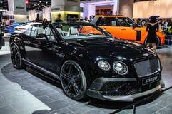 FRANKFURT - SEPT 2015: Bentley Continental GTC Startech cabrio p Royalty Free Stock Photos