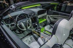 FRANKFURT - SEPT 2015: Bentley Continental GTC Startech cabrio p Stock Image