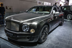 FRANKFURT - SEPT 2015: Bentley Mulsanne Startech presented at IA Stock Photos