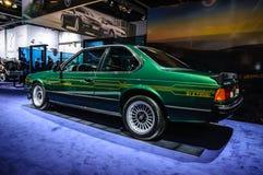 FRANKFURT - SEPT 2015: BMW Alpina B7 S turboladdare som in framläggas på IAA Arkivbilder