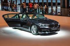 FRANKFURT - SEPT 2015: BMW 750Li xDrive presented at IAA Royalty Free Stock Photography