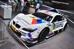 FRANKFURT - SEPT 14: BMW M3 E92 racing edition GT2 presented as Stock Images