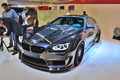 FRANKFURT - SEPT 14: BMW M6 Mirr6r Hamann presented as world pre Stock Photo