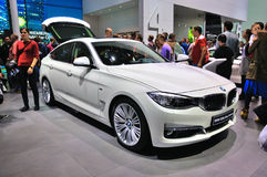 FRANKFURT - SEPT 14: BMW 3 series Gran Turismo (GT) presented as Royalty Free Stock Images