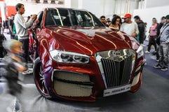 FRANKFURT - SEPT 2015: BMW X6 AG Excalibur Alligator  presented Royalty Free Stock Images