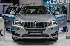 FRANKFURT - SEPT 2015: BMW X5 xDrive40e presented at IAA International Motor Show Royalty Free Stock Photography