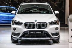 FRANKFURT - SEPT 2015: BMW X1 xDrive25i som framläggas på IAA Royaltyfri Bild