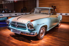 FRANKFURT - SEPT 2015: Borgward Isabella presented at IAA Intern Stock Images