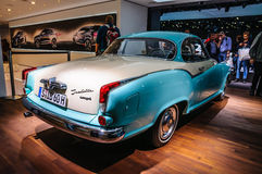 FRANKFURT - SEPT 2015: Borgward Isabella presented at IAA Intern Royalty Free Stock Photos