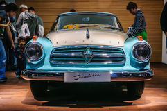 FRANKFURT - SEPT 2015: Borgward Isabella presented at IAA Intern Royalty Free Stock Photo