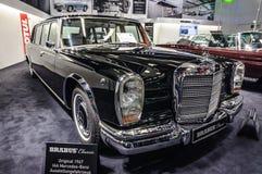 FRANKFURT - SEPT 2015: Brabus Classic Mercedes Stock Image