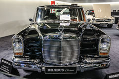FRANKFURT - SEPT 2015: Brabus Classic Mercedes-Benz 600 Pullman Stock Image