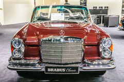 FRANKFURT - SEPT 2015: BRABUS Classic Mercedes-Benz 280 SE 3.5 C Stock Photos